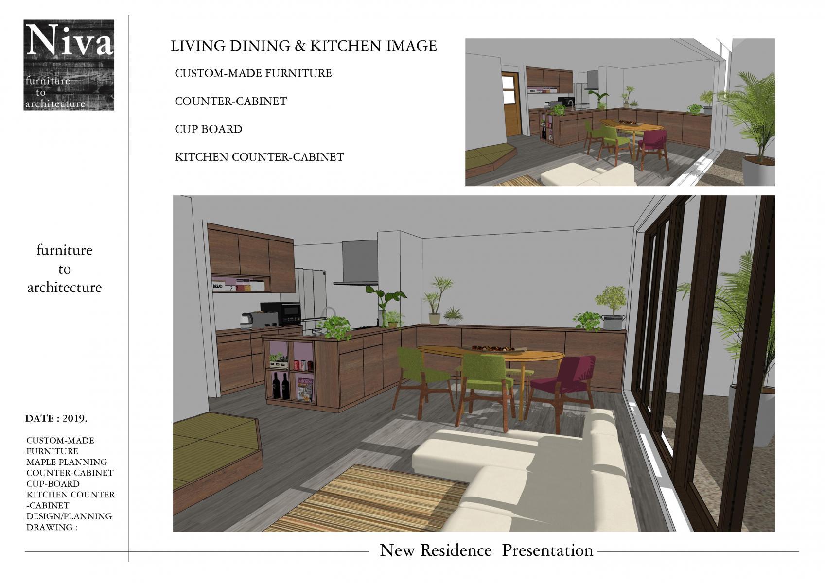 リビング家具提案
