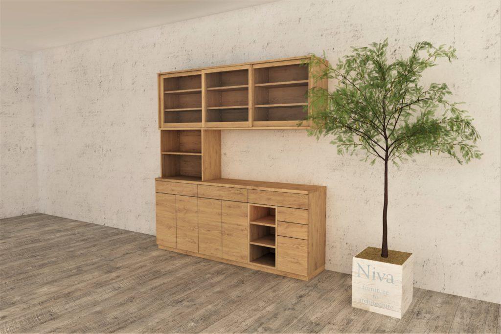 壁面収納 カップボード 食器棚