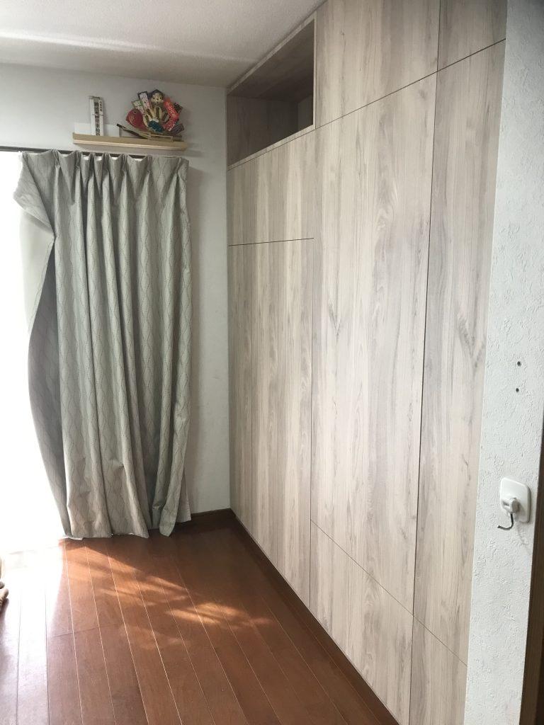 壁面収納_大阪オーダー家具_大阪府