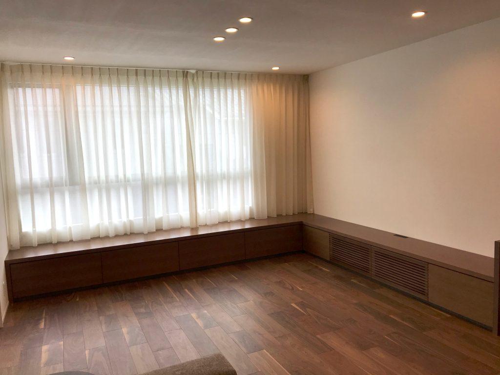 壁面収納_L型収納_ベンチ収納_テレビボード_オーダー家具_大阪府